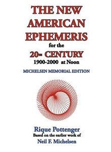 New American Ephemeris 20th C Noon