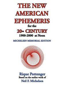 New American Ephemeris 20th C Noon
