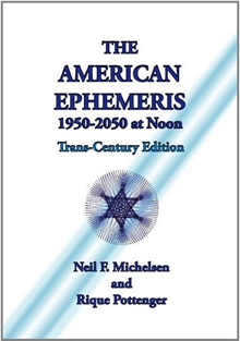 American Ephemeris 1950 - 2050 at Noon